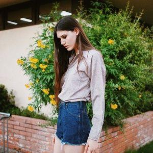Wrangler Cut Off Denim Jean Shorts Size 24